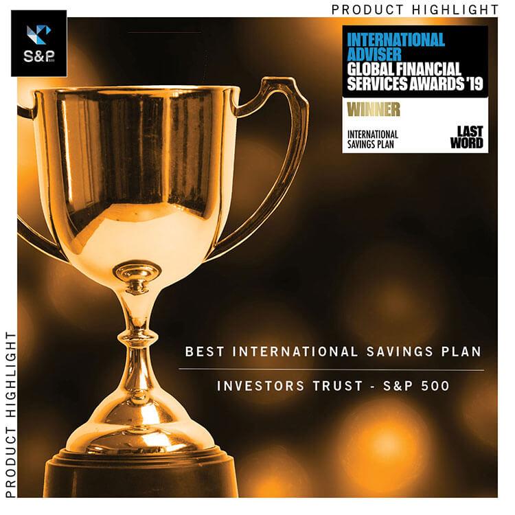 Лучший международный накопительный план – S&P 500 Index от Investors Trust
